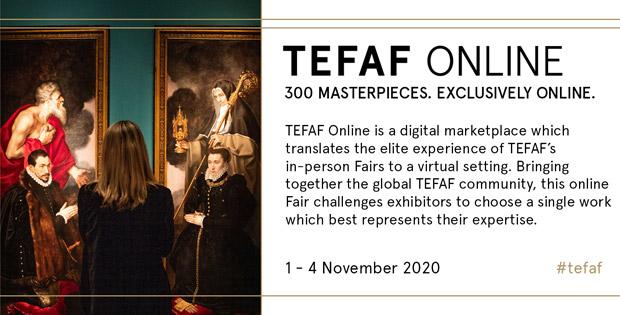 Galerie Kevorkian expose à la TEFAF Online 2020