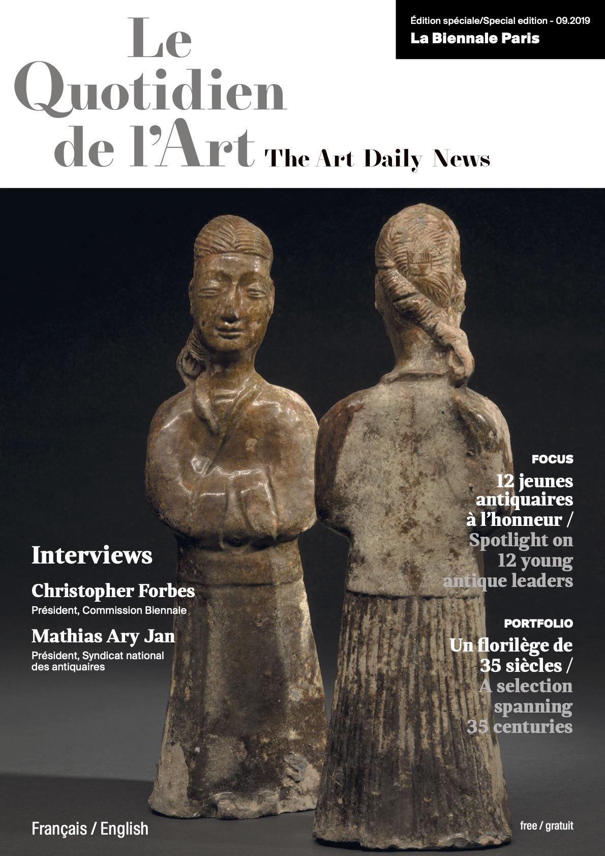 Le Quotidien de l'Art September 2019