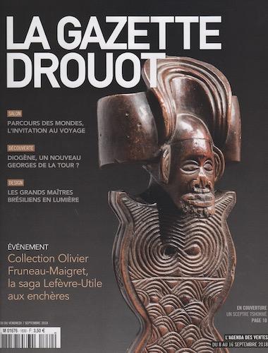 La Gazette Drouot September 2018