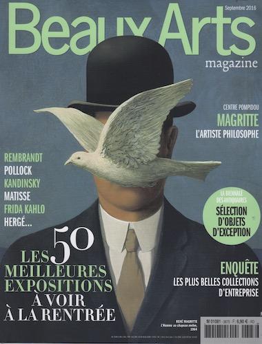 Beaux-Arts Magazine Septembre 2016