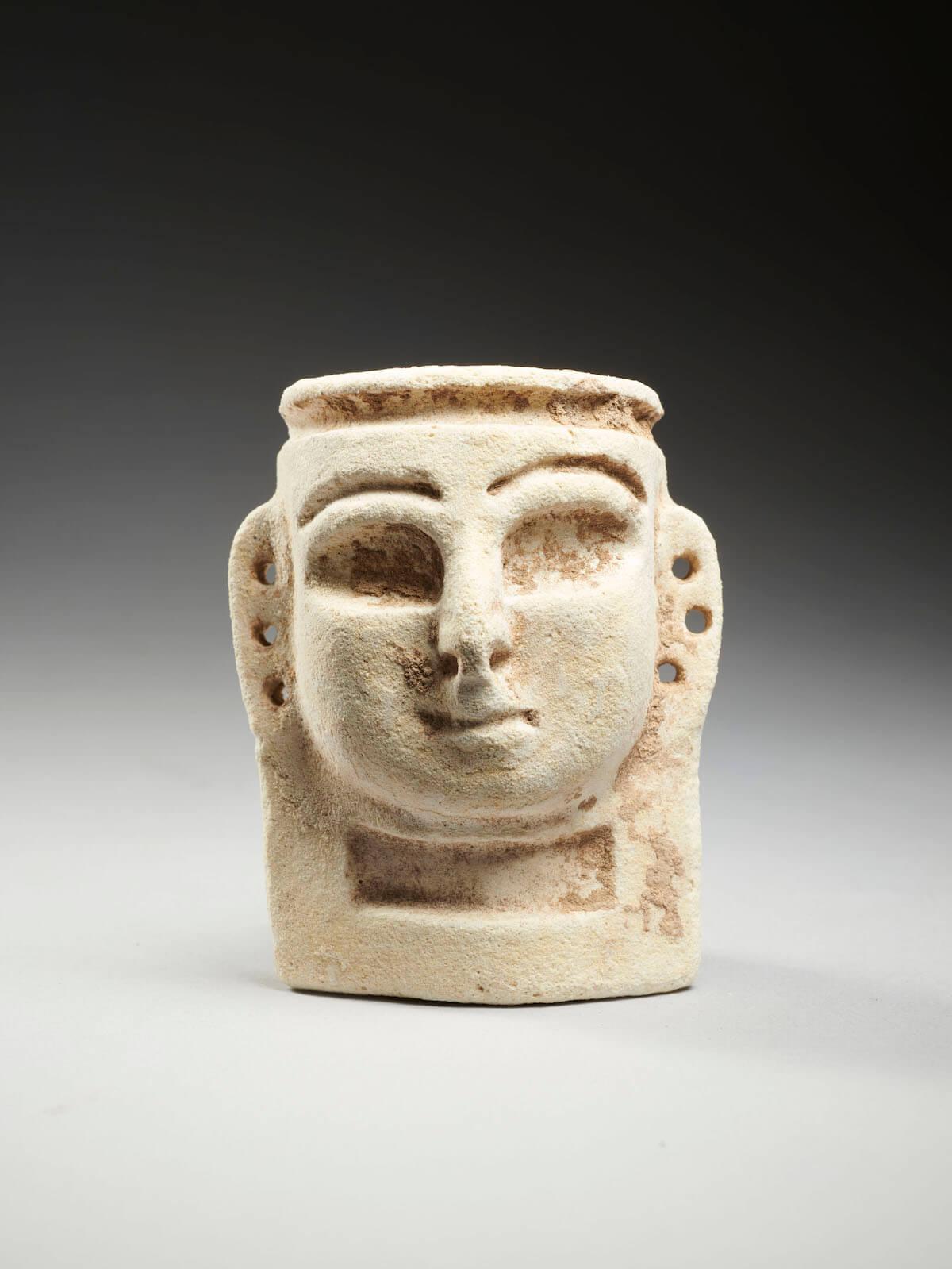 Masque pendentif de Ras Shamra - Ougarit