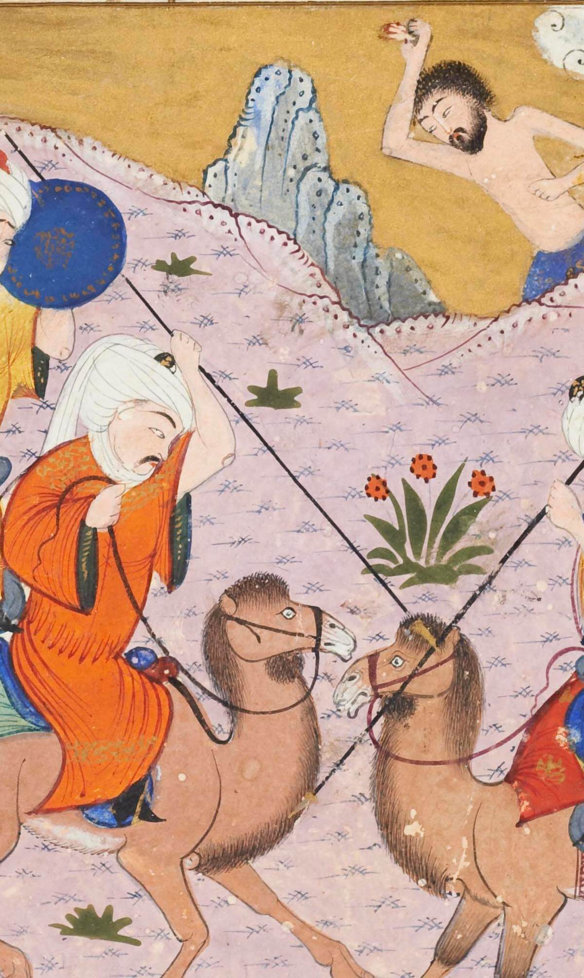 La bataille des clans de Nawfal et de Layla (détail)
